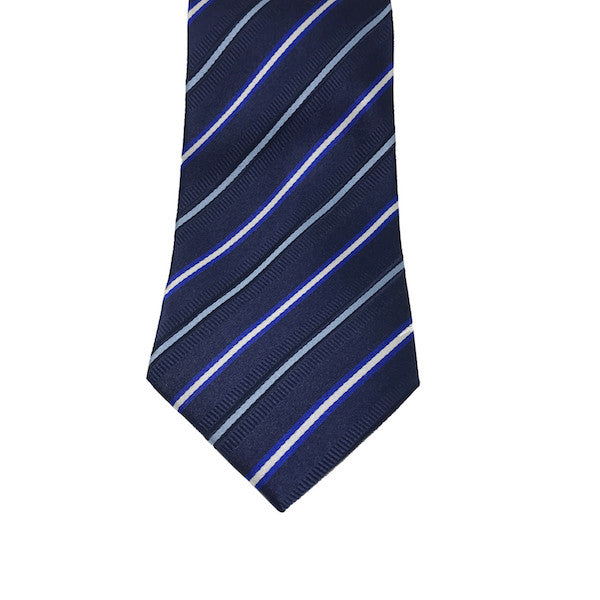 Blue Stripe Tie - Avery