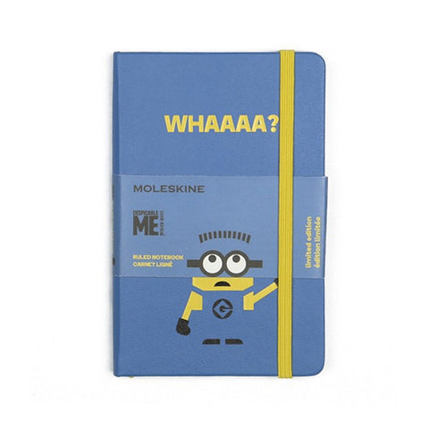 Limited Edition Minions Moleskine Pocket Notebook - Blue