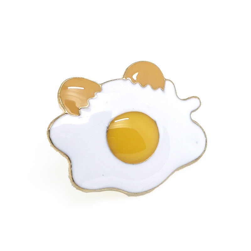 Lapel Pins - Sunny Side Up Lapel Pin - The Little Link