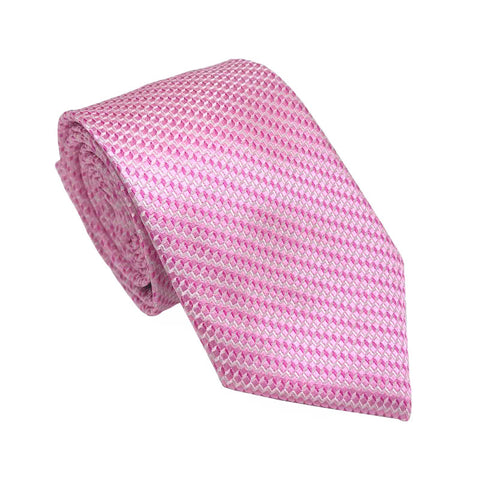 Ties - Cape Pink Silk Tie - The Little Link