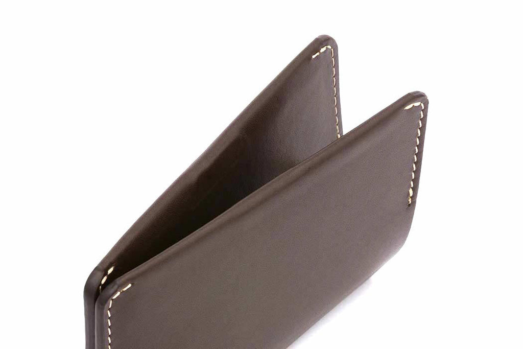 Bags - Bellroy Leather Card Holder - Java - The Little Link