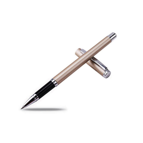 Engraved Stift Pen - Champagne