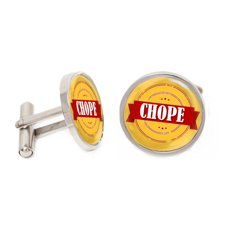 Novelty Cufflinks - Chope - The Little Link