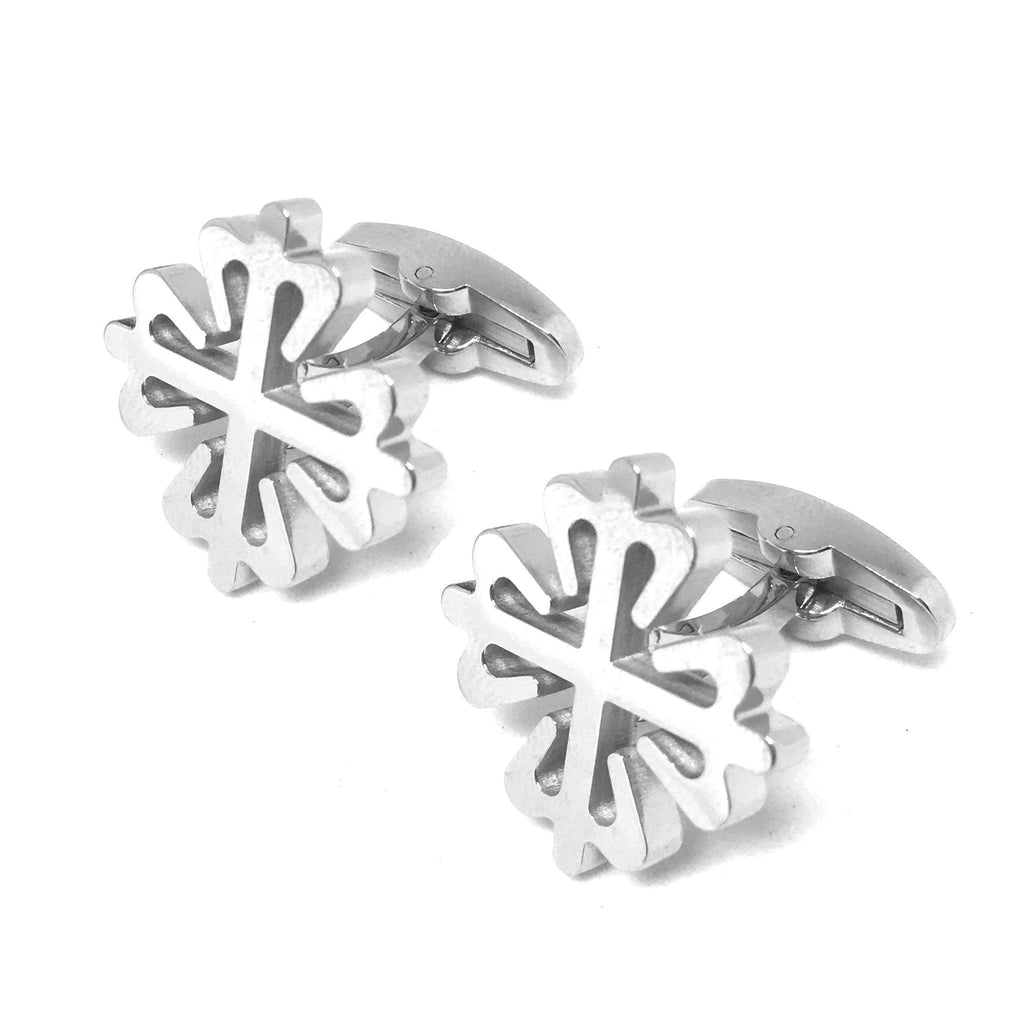 Silver Novelty Cufflinks - Heraldry