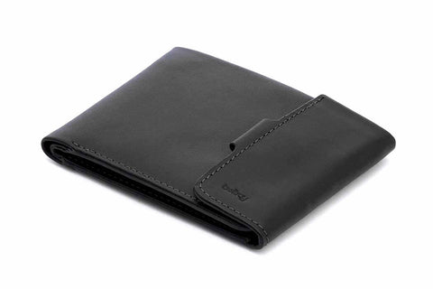 Bags - Bellroy Coin Fold - Black - The Little Link