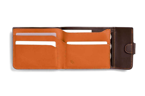 Bags - Bellroy Coin Fold - Java - The Little Link