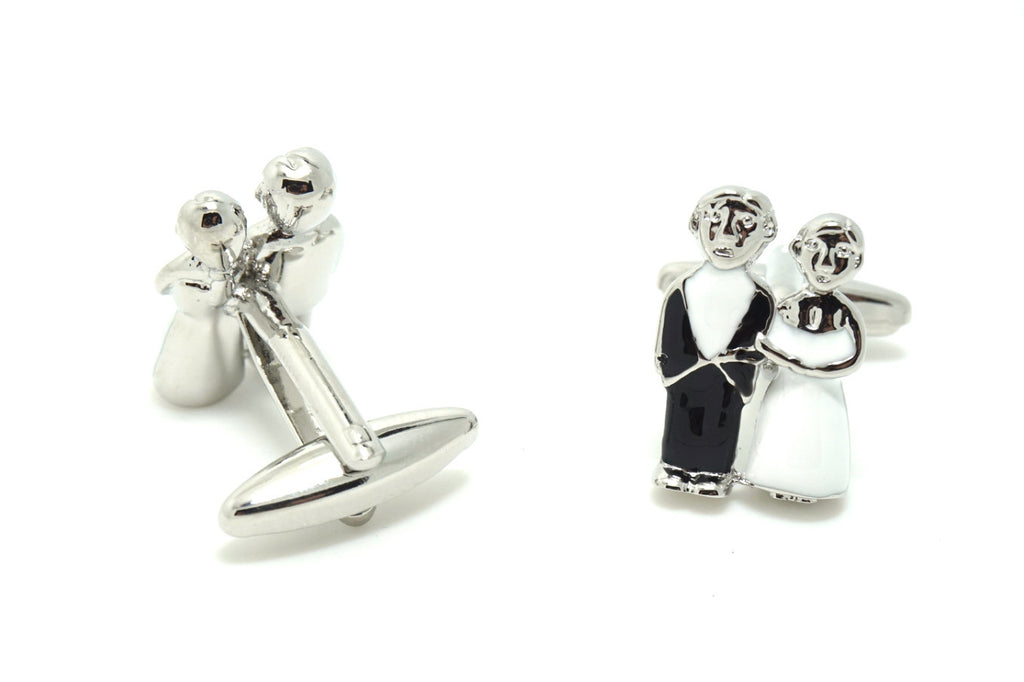 Novelty Cufflinks - Happily Ever After - The Little Link