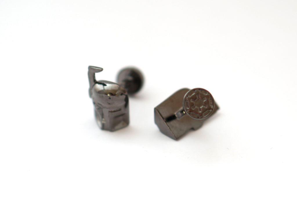 Novelty Cufflinks - Boba Fett (Dark) - The Little Link
