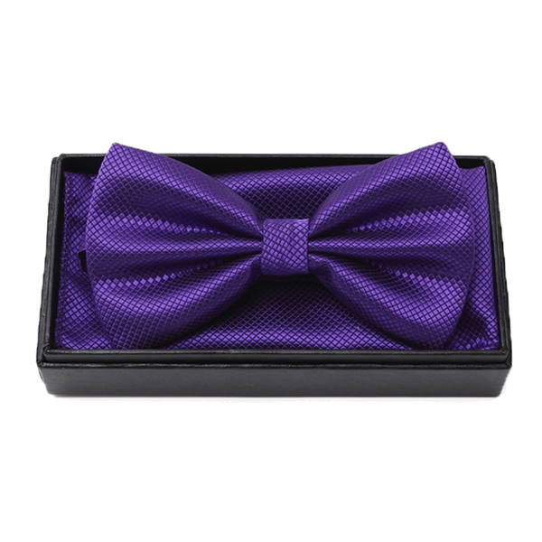 Bowties - Hunter Bowtie and Pocket Square Box Set - The Little Link