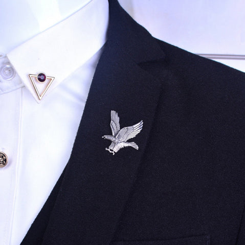 Eagle Collar Pin