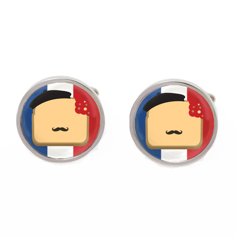 Novelty Cufflinks - French Toast - The Little Link