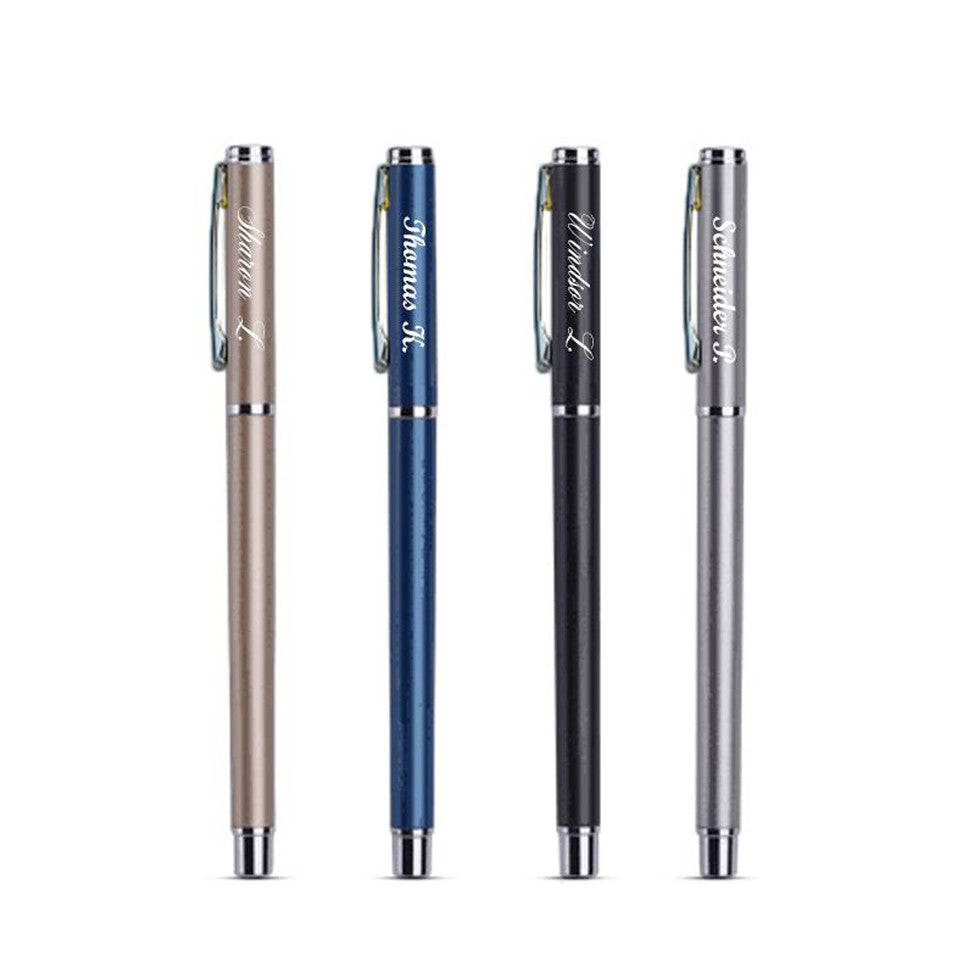 Pens - Engraved Stift Pen - Sapphire - The Little Link