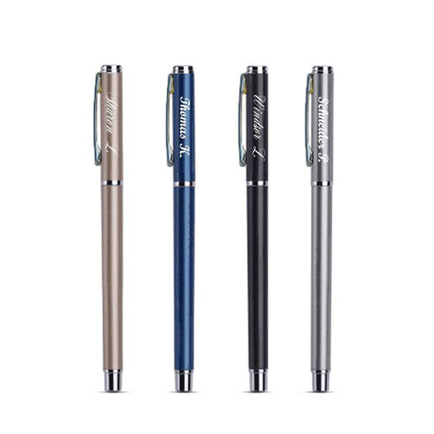 Blue Custom Engravable Stift Pen - Sapphire