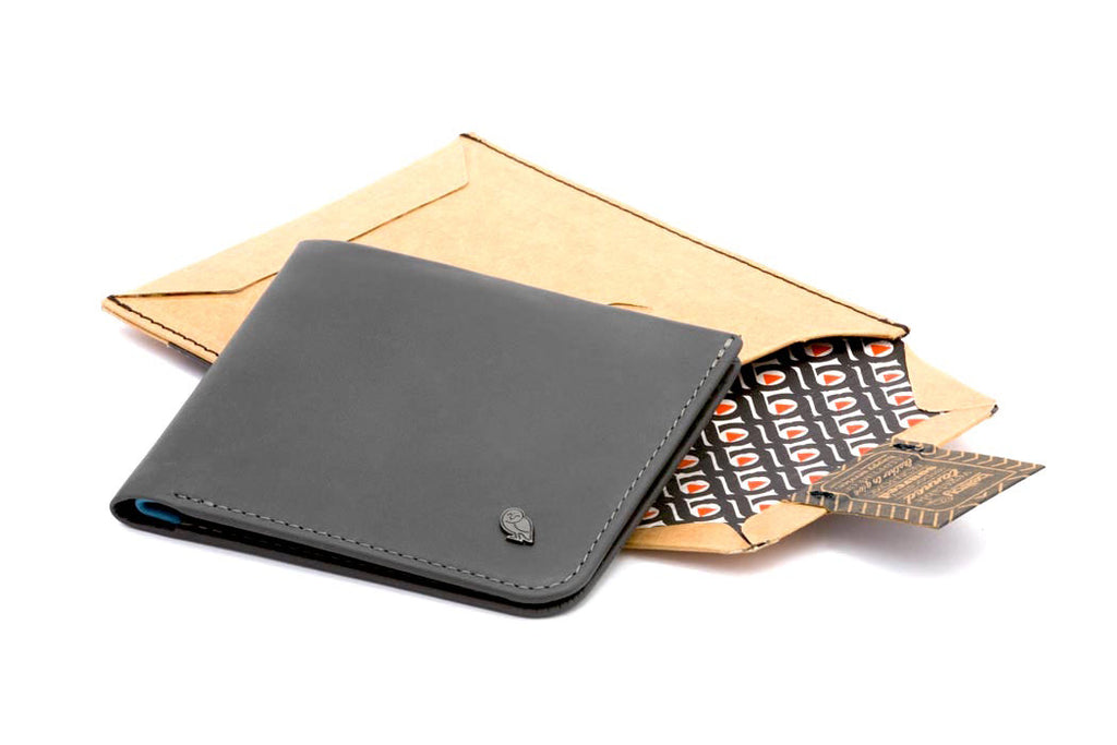 Bags - Bellroy Hide & Seek Wallet (HI) - Charcoal - The Little Link