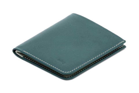 Bags - Bellroy High Line Slim Wallet - Teal - The Little Link