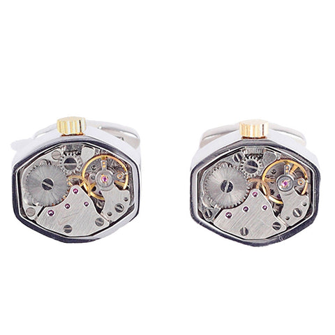 Watch Movement Cufflinks - Watch Movement Michael - The Little Link