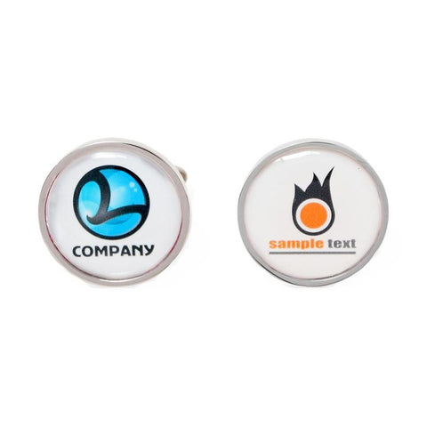 Custom Logo Cufflinks