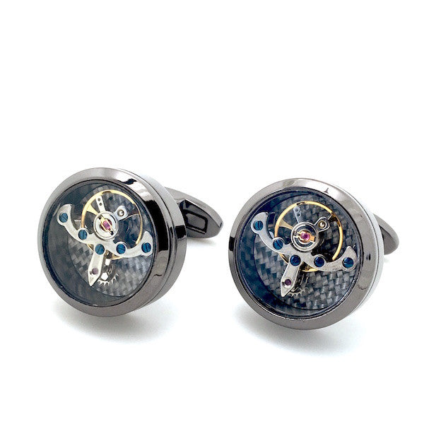 Watch Movement Cufflinks - Watch Movement Ignatius - The Little Link