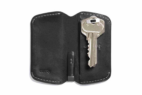 Bags - Bellroy Key Cover - Black - The Little Link