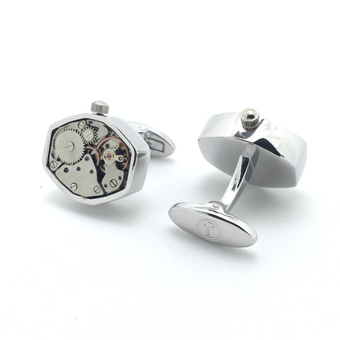 Watch Movement Cufflinks - Watch Movement Roger - The Little Link
