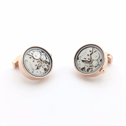 Watch Movement Cufflinks - Watch Movement Richard - The Little Link