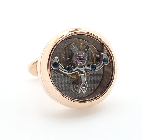 Novelty Cufflinks - Watch Movement Porta - The Little Link