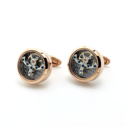 Watch Movement Cufflinks - Watch Movement Remo - The Little Link