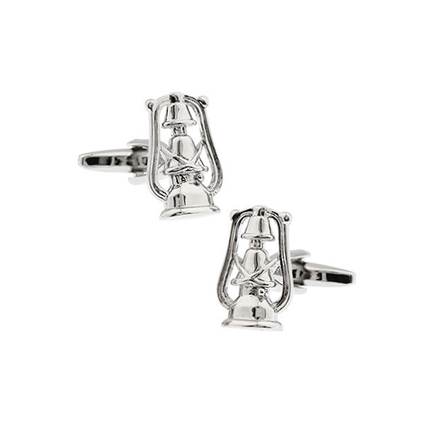 Silver Novelty Cufflinks - Nightwatch