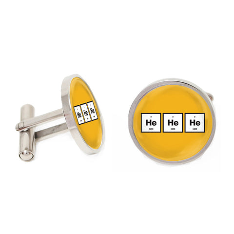 Novelty Cufflinks - Laughing Gas - The Little Link