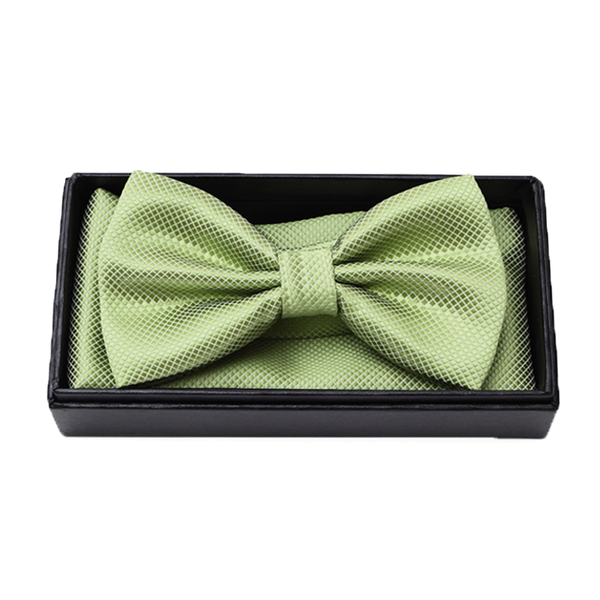 Bowties - Evan Bowtie and Pocket Square Box Set - The Little Link