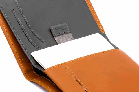 Bags - Bellroy Note Sleeve Wallet (RFID) - Caramel - The Little Link
