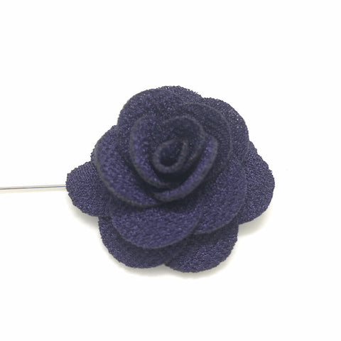 Lapel Pins - Violet Rose Lapel Pin - The Little Link
