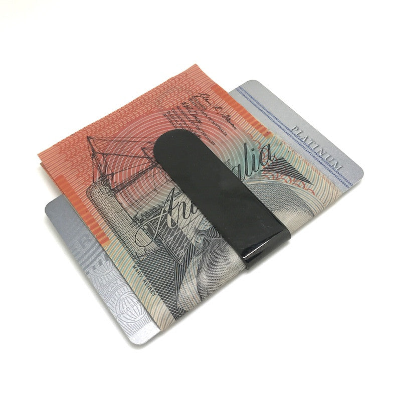 Moneyclips - Classic Gunmetal Money Clip - The Little Link