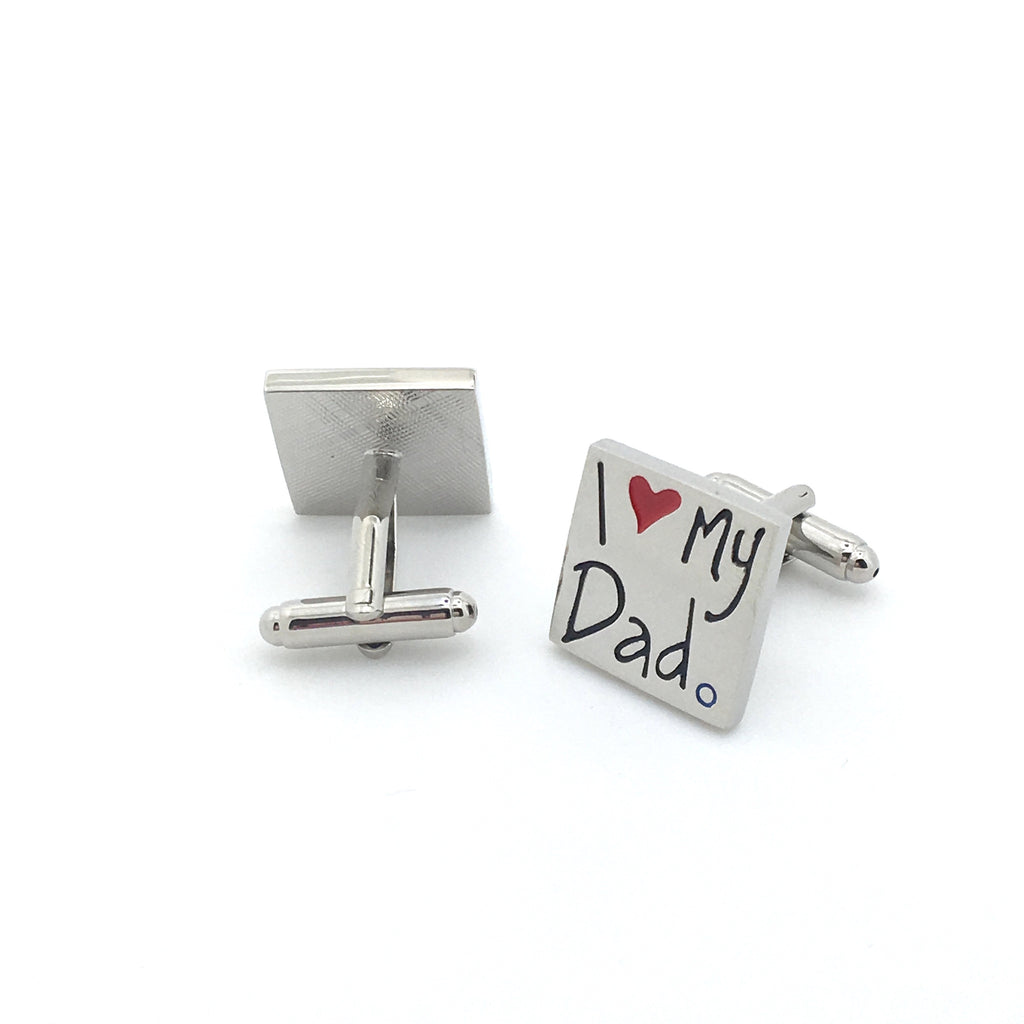 Novelty Cufflinks - Father's Love - The Little Link