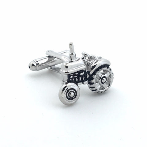 Novelty Cufflinks - Tractor - The Little Link