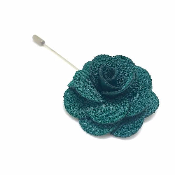 Green Lapel Pin Rose