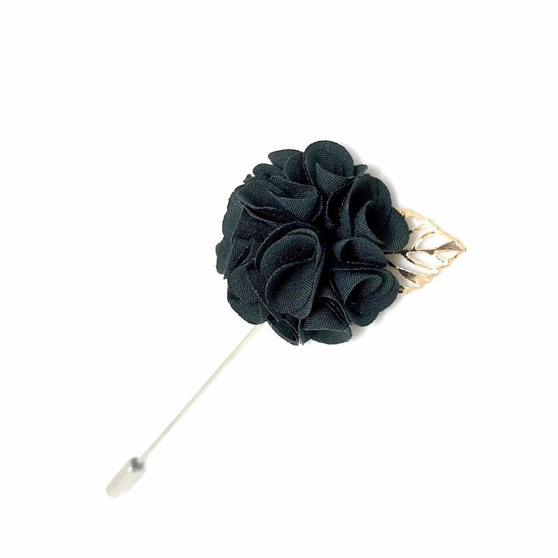 Lapel Pins - Royal Olive Lapel Rose - The Little Link