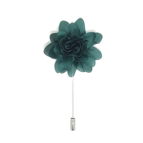 Green Lapel Flower Boutonniere