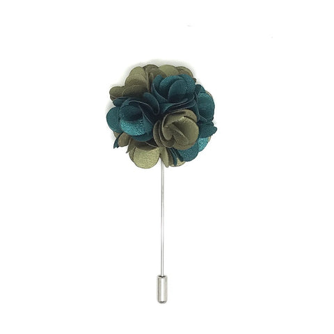 Forest Lapel Rose Boutonniere
