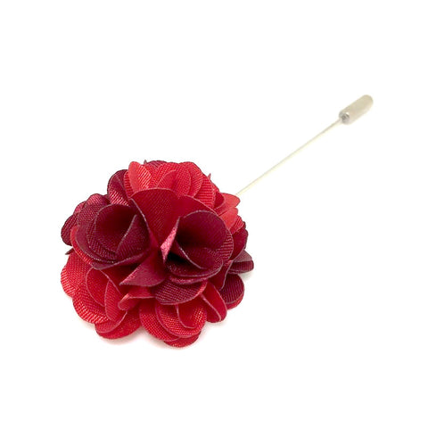 Lapel Pins - Cherry Lapel Rose Boutonniere - The Little Link