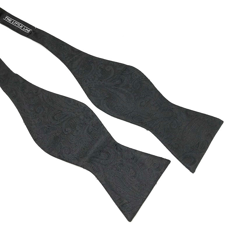Bond Black Self-Tie Bow Tie