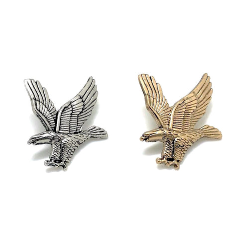 Gold Eagle Collar Pin