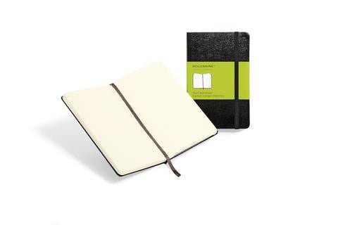 Notebook - Moleskine Classic Black Notebooks - The Little Link