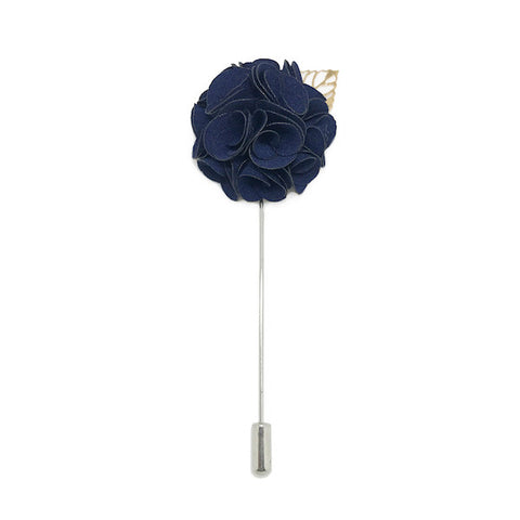Royal Navy Lapel Rose Pin Boutonniere