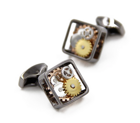 Watch Movement Cufflinks - Watch Movement Olga - The Little Link