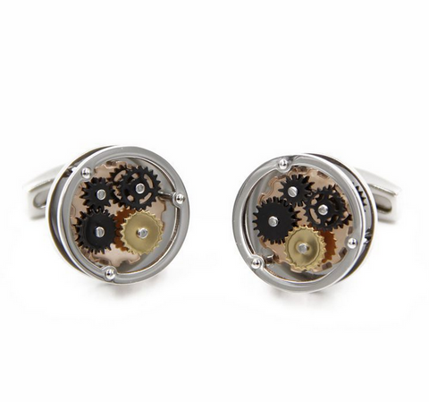 Watch Movement Cufflinks - Watch Movement Preston - The Little Link