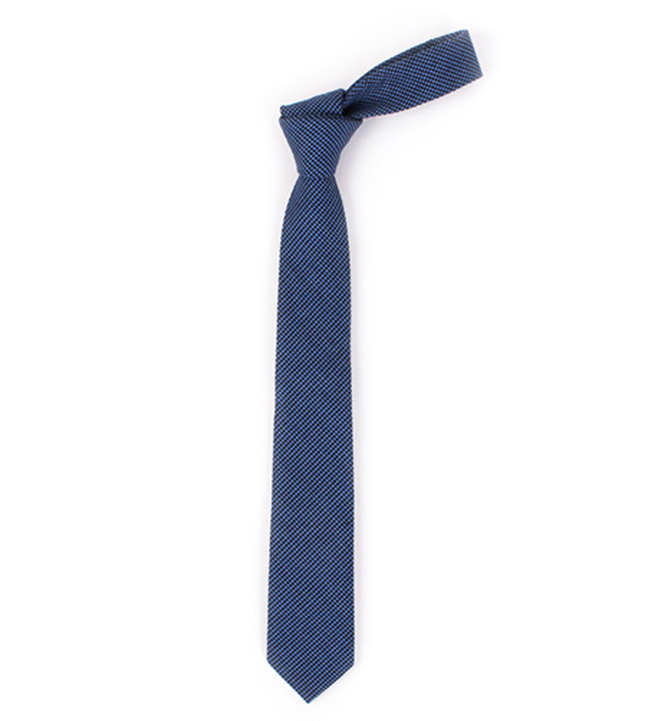 Blueberry Cotton Tie