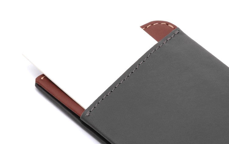 Bags - Bellroy Micro Sleeve - Charcoal - The Little Link