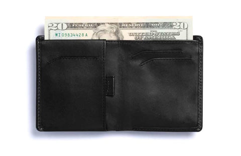 Bags - Bellroy Note Sleeve Wallet - Black - The Little Link