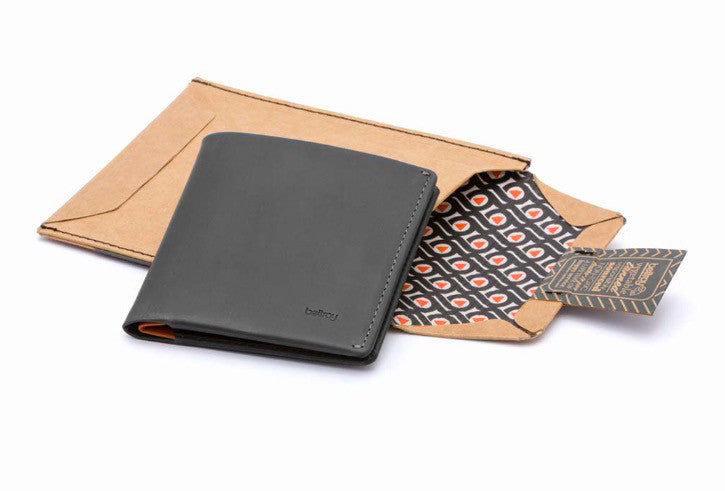 Bags - Bellroy Note Sleeve Wallet - Charcoal - The Little Link